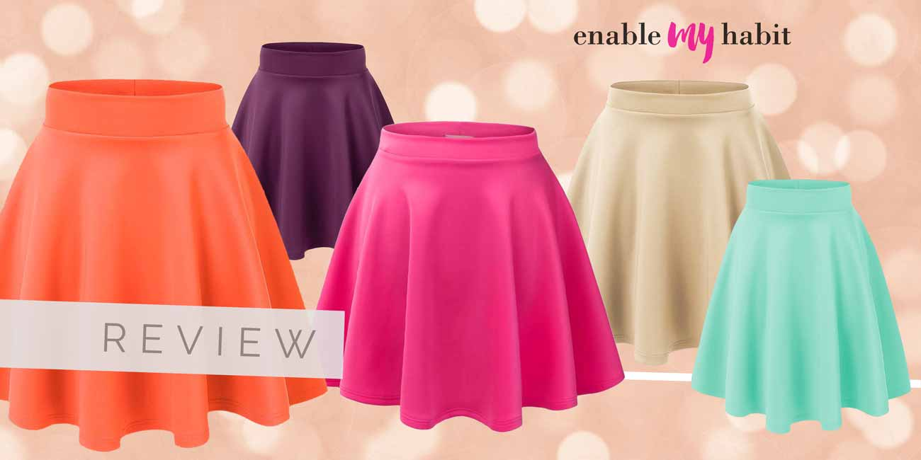 Review: Made by Johnny Flared Skater Skirt