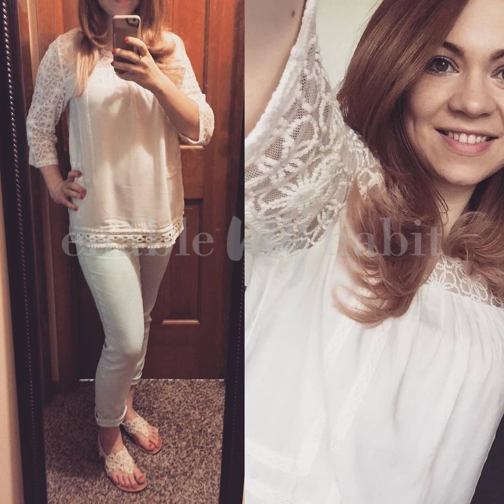Lace & Mint Skinnies