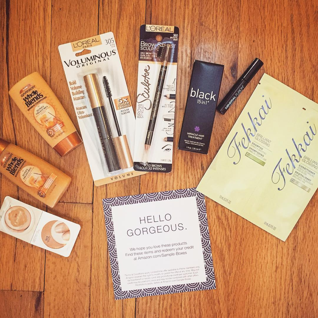 Amazon Beauty Box Arrived!