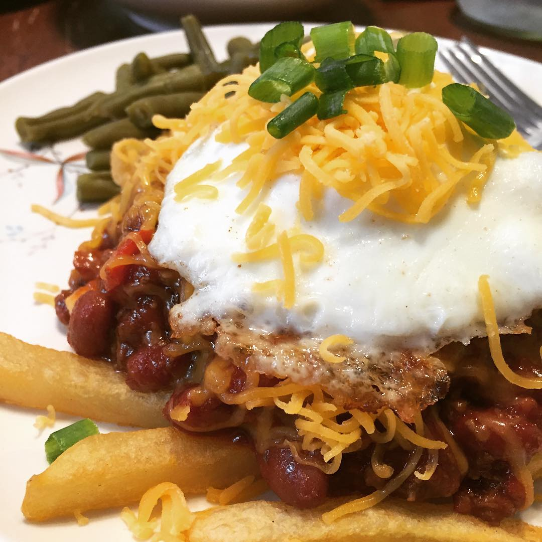 Just Food: Chili Cheese Fries