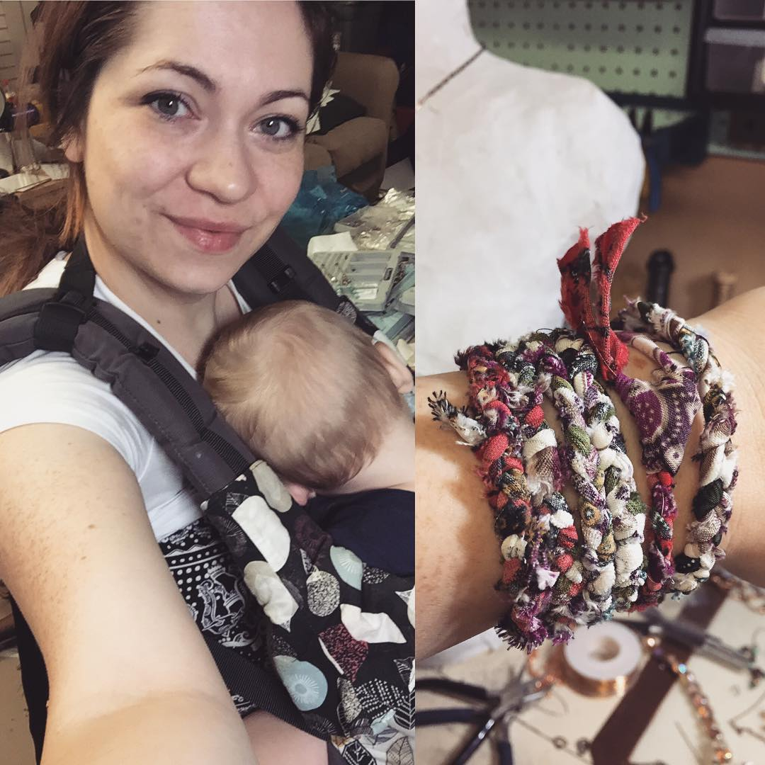 Just Life: Babywearing + Jewelry