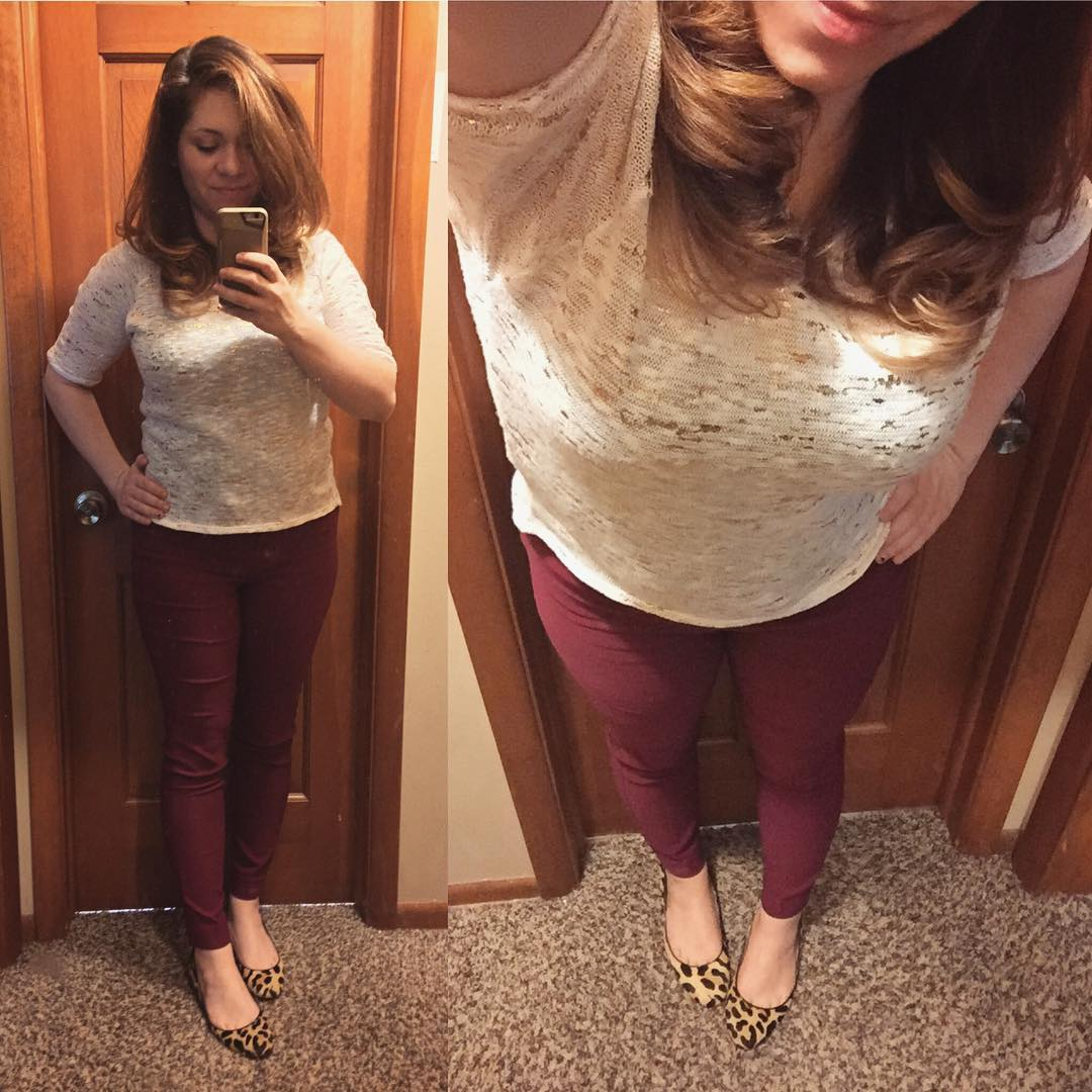 Fall Style: Oh, How I Love Burgundy + Gold