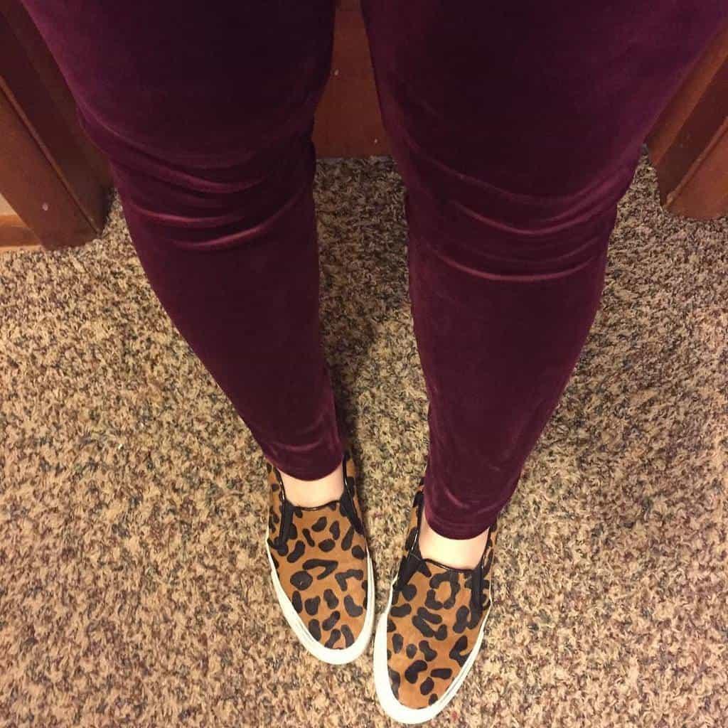 Fall Trend: Velvet Leggings!