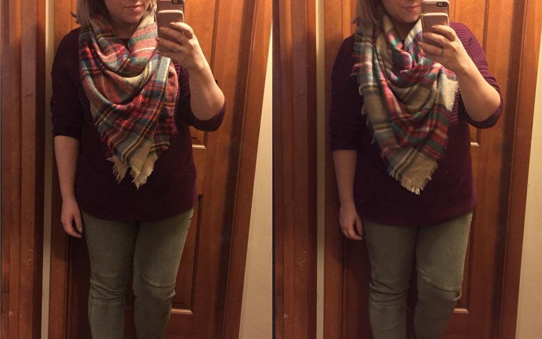Fall Style Tip: A Bulky Blanket Scarf