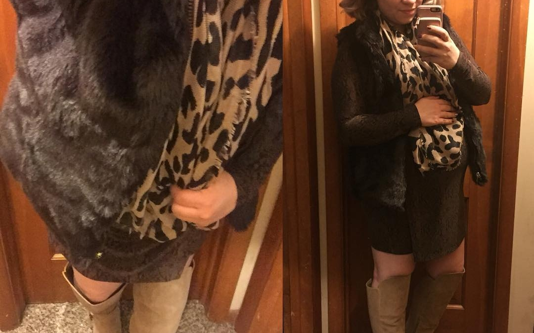 Fall Style: Faux Fur for Date Night