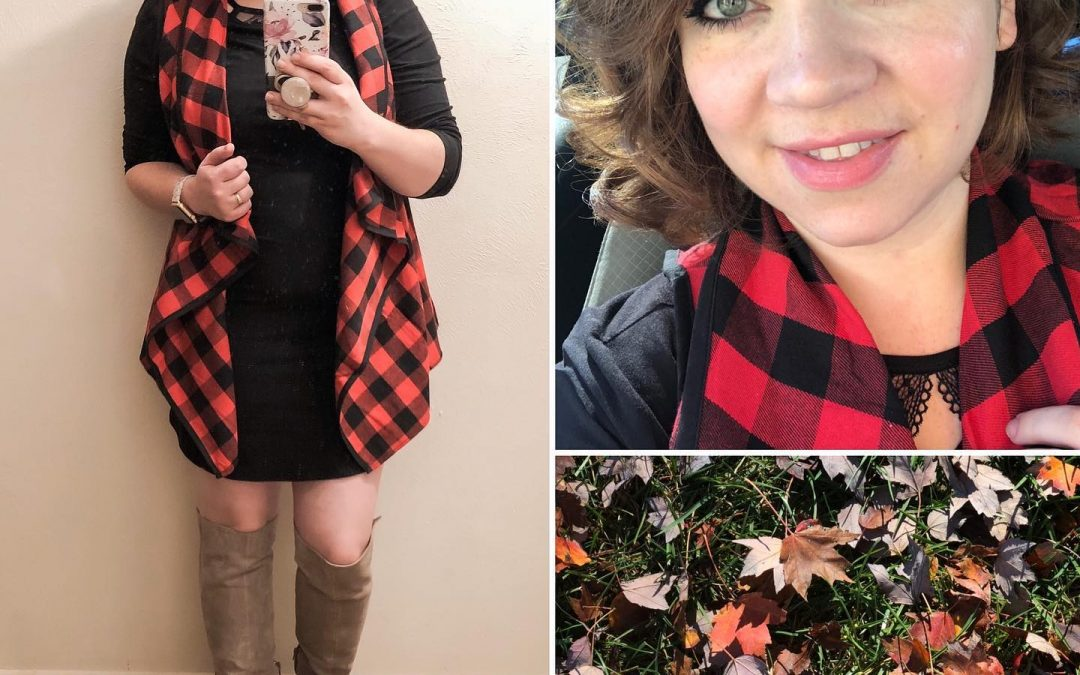 Red Buffalo Plaid Vest: SOOO Perfect!